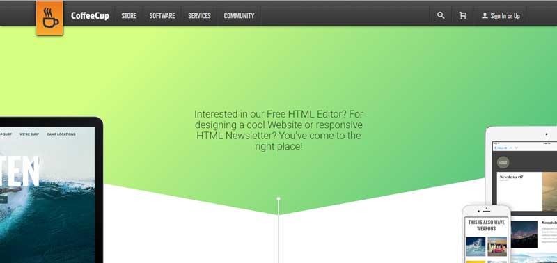 免費網站設計軟體-CoffeeCup