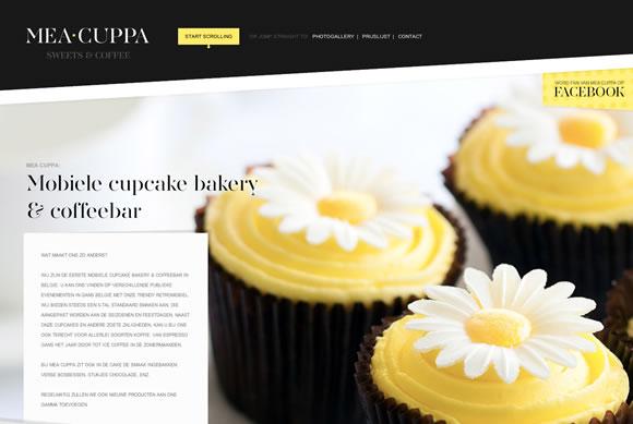 網站調色板-Mea Cuppa