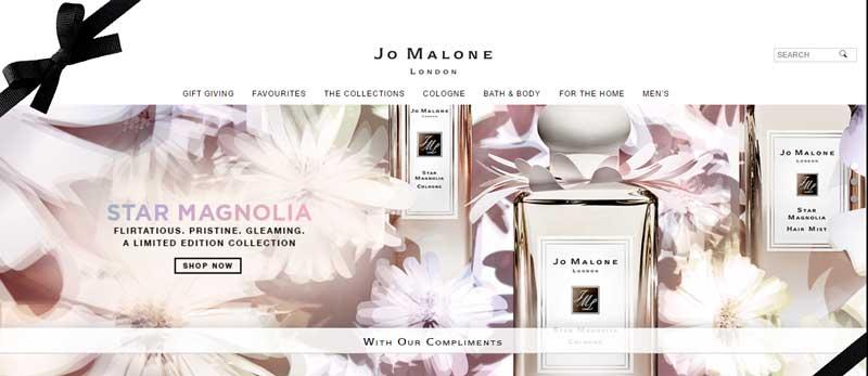 透過美容化妝網站找靈感--Joe-Malone