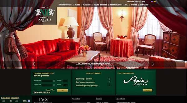 酒店網站設計02
