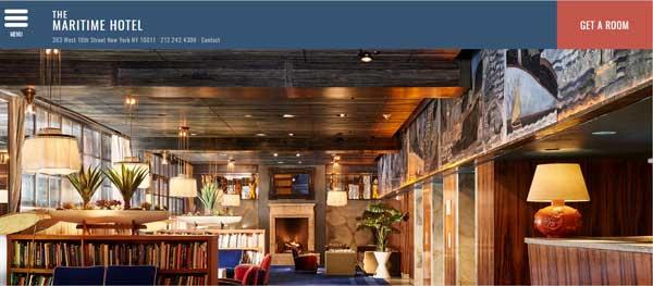 酒店網站設計06