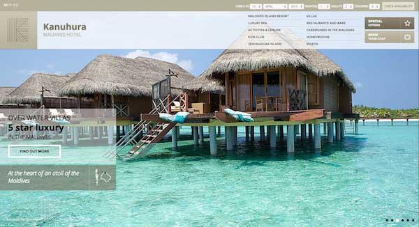 酒店網站設計09