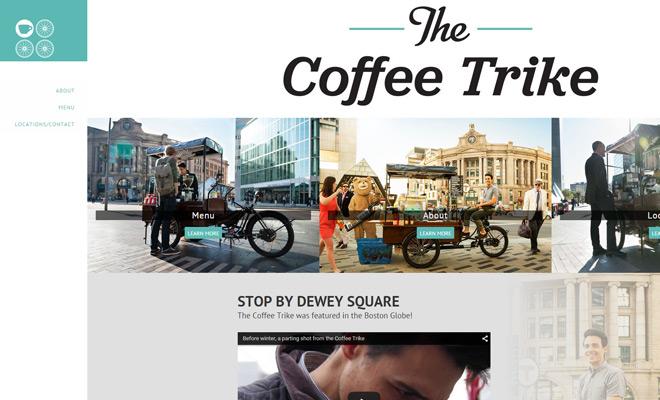 The Coffee Trike-用攝影分解內容