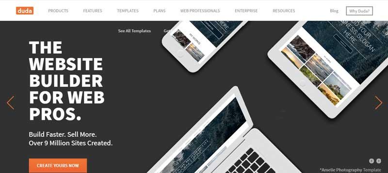 10大網站設計軟體-DudaOne