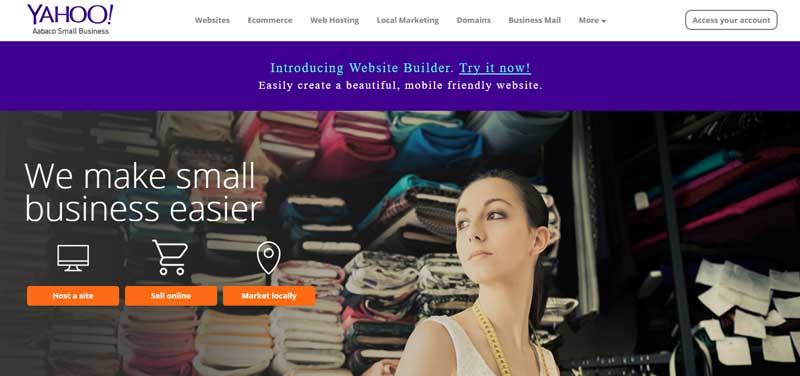 10大網站設計軟體-Yahoo-Site-Builder