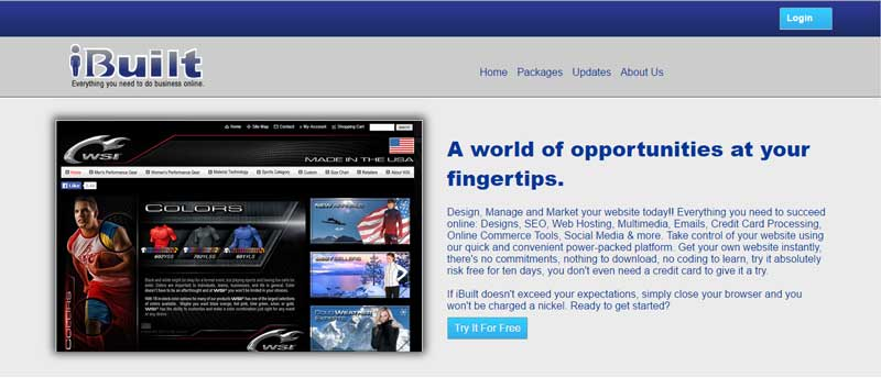 10大網站設計軟體-iBuilt