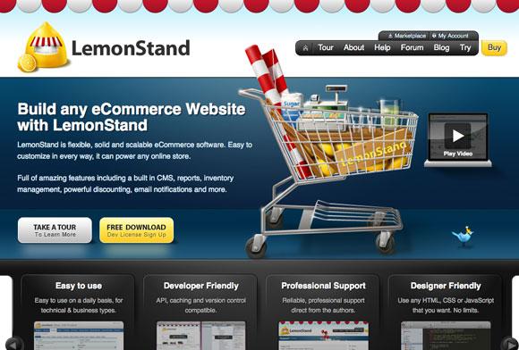 網站調色板-Lemon Stand App