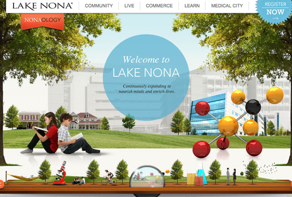 網站調色板-Lake Nona
