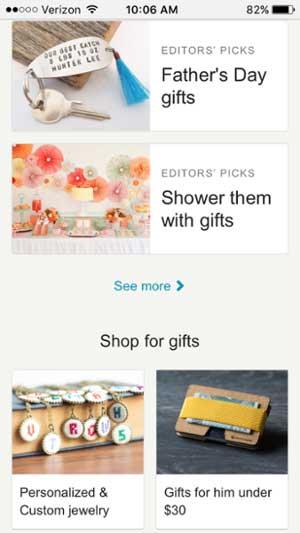 移動網站設計範例--etsy-mobile-2