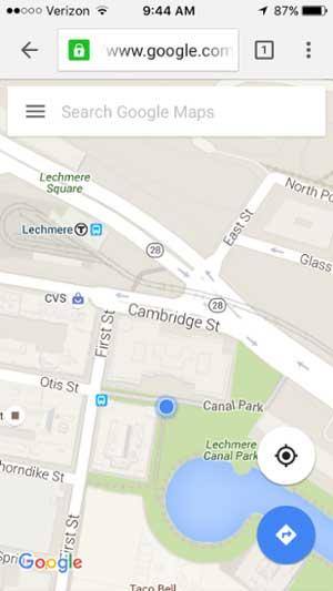 移動網站設計範例--google-maps