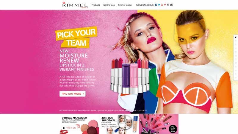 透過美容化妝網站找靈感--Rimmel