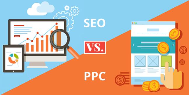 SEO搜尋引擎優化 vs PPC每次點擊付費